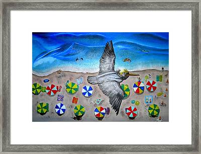 Bird Framed Print by Kathern Welsh