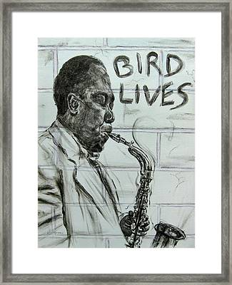 Bird Lives Framed Print