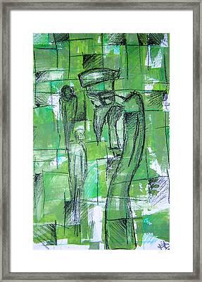 Bird Man Framed Print by Jera Sky