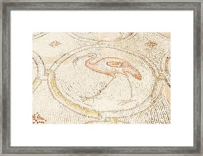 Bird Mosaic Framed Print by Tal Bedrack