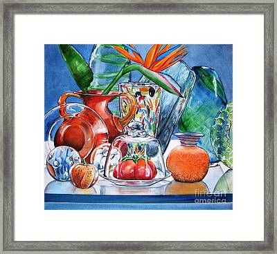 Bird Of Paradise No 2 Framed Print