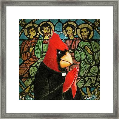 Bird Of Pray... Framed Print