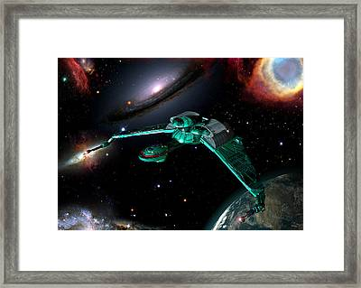 Bird Of Prey Framed Print by Joseph Soiza