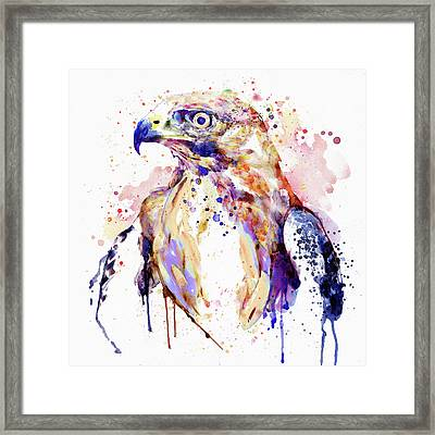 Bird Of Prey  Framed Print by Marian Voicu