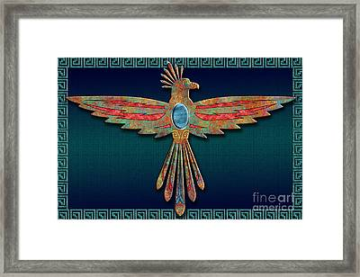 Bird Of Thunder Framed Print