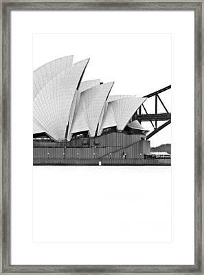 Bird On The Harbour Framed Print by Az Jackson
