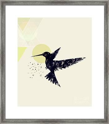 Bird X Framed Print