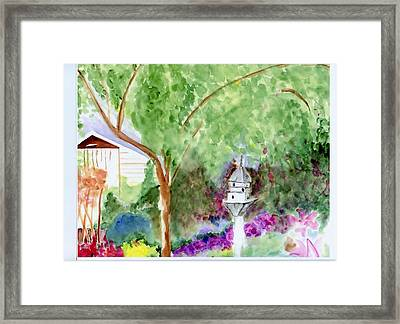 Birdhouse Framed Print by Jamie Frier