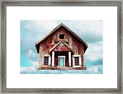 Birdhouse Framed Print by Tony Grider