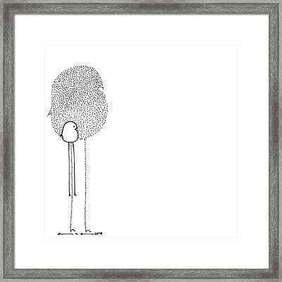 Birdie Framed Print