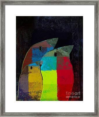Birdies - C2t1v4 Framed Print