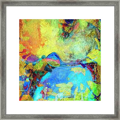 Framed Print featuring the painting Birdland by Dominic Piperata