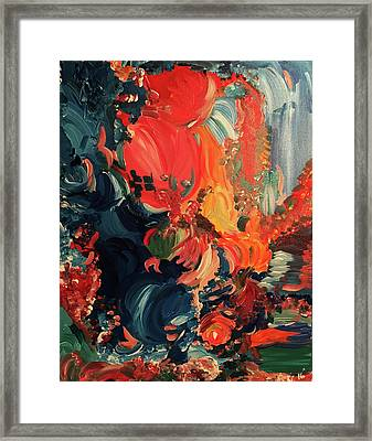 Birds And Creatures Of Paradise Framed Print