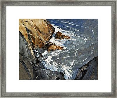 Bird's Eye View 16x20 Framed Print by David Simons