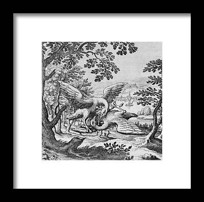 Philosophers Stone Framed Prints