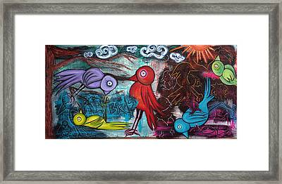 Birds Framed Print by Laura Barbosa