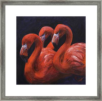 Birds Of A Feather Framed Print by Billie Colson
