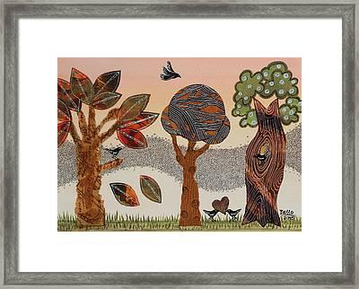 Birds Refuge Framed Print
