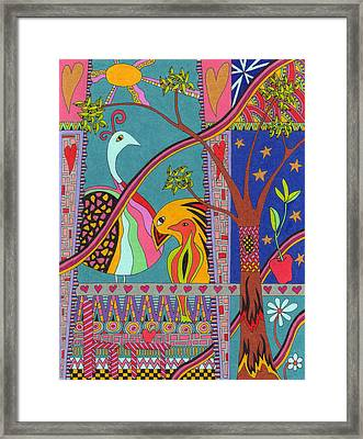 Birds View Framed Print by Molly Williams