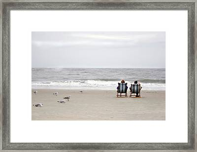 Birds Watching  Framed Print by John Hix