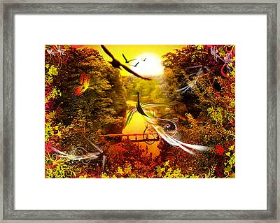 Birds World Framed Print