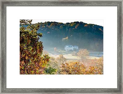 Birdsong Hollow - Natchez Trace Framed Print by Debra Martz