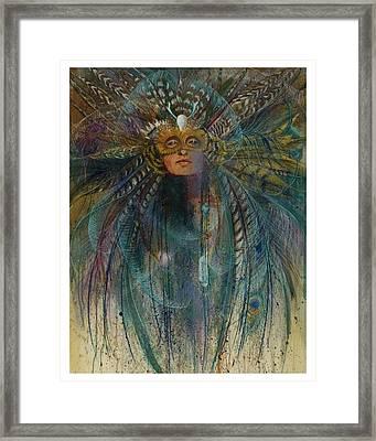 Birdtribe Magic Framed Print by Pamela Mccabe