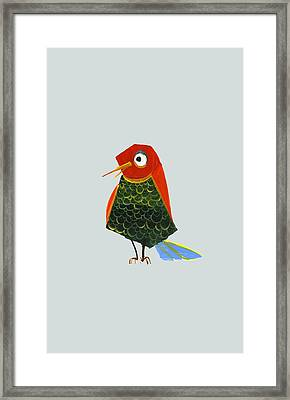 Birdy Framed Print by Kristina Vardazaryan