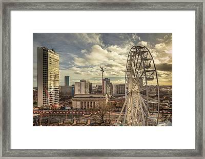 Birmingham Christmas Craft Fair Framed Print by Chris Fletcher
