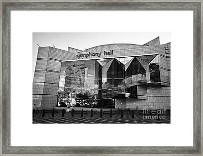 Birmingham Symphony Hall Uk Framed Print by Joe Fox