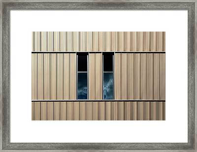 Birmingham Windows 2 Framed Print