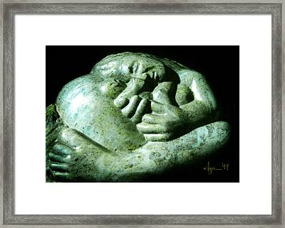 Birth Bliss Framed Print