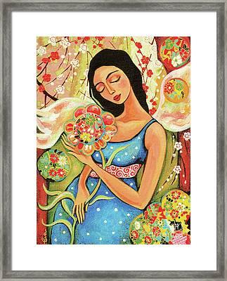 Birth Flower Framed Print