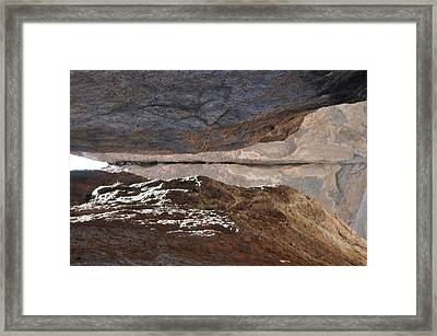 Birth In Stone Framed Print by Thor Sigstedt