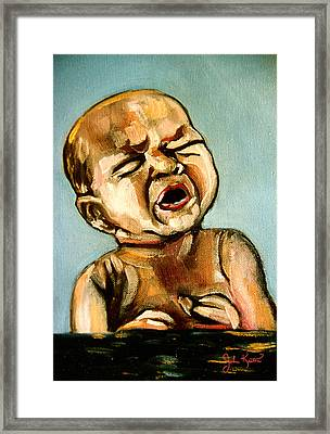 Birth Framed Print by John Keaton