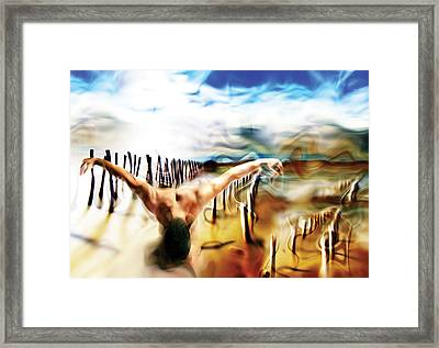 Birth Framed Print by Naikos N
