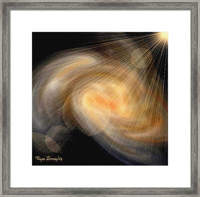 Birth Of A Planet II Framed Print