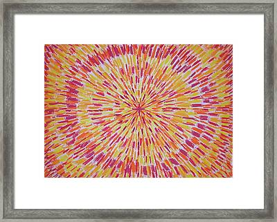 Birth Of A Star Framed Print by Gregory Young