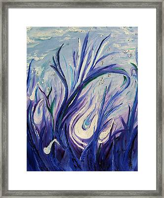 Birth Of Music Framed Print