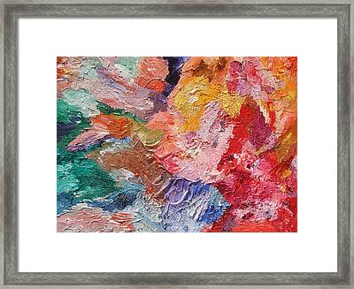 Birth Of Passion Framed Print