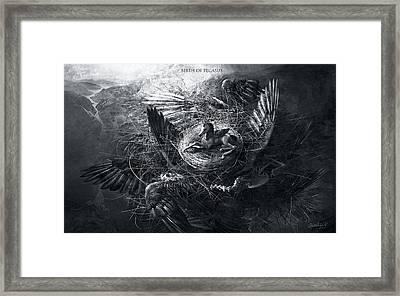 Birth Of Pegasus Framed Print