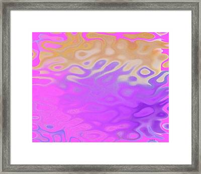 Birth Of Sun.morning Framed Print by Dr Loifer Vladimir