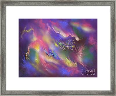 Birth Of The Phoenix Framed Print by Amyla Silverflame