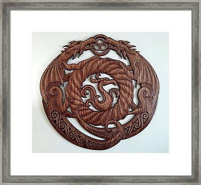 Birth Of The Phoenix Framed Print
