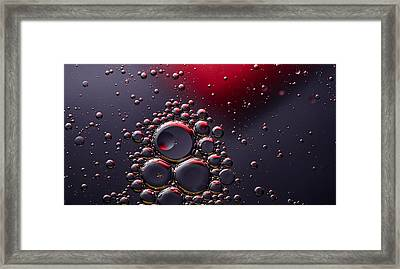 Birth Of The Red Mercury Sun Framed Print