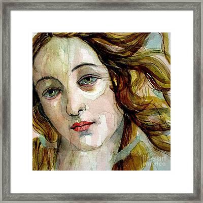 Birth Of Venus Framed Print