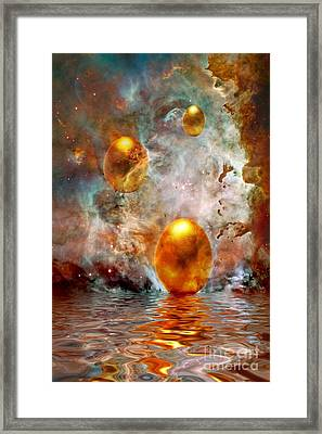 Birth Framed Print by Jacky Gerritsen