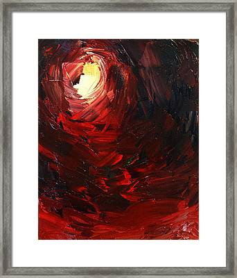 Framed Print featuring the painting Birth by Sheila Mcdonald