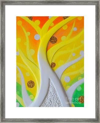 Birth Yellowgold 3 Framed Print