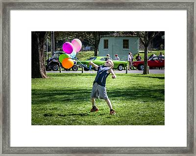 Birthday Boy Framed Print by Brad Stinson